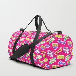Good vibez / Red Duffle Bag