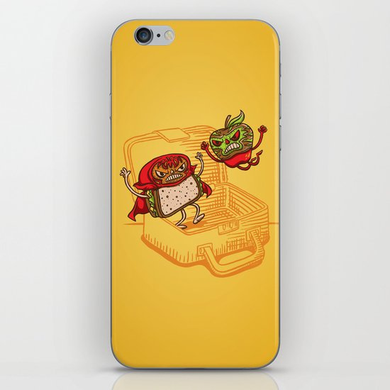 Lunchadores iPhone & iPod Skin
