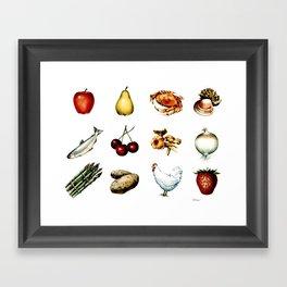 Some More Food Framed Art Print