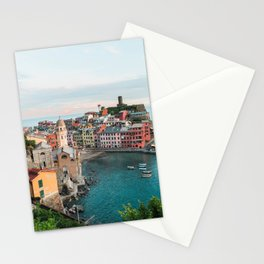 Vernazza, Italy (Portrait) Stationery Cards
