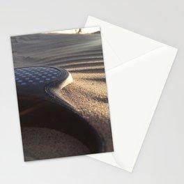 Walks along the beach Stationery Cards