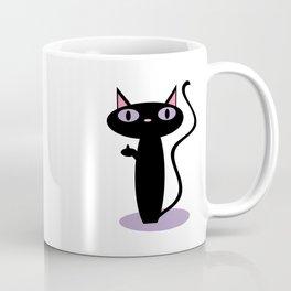 Standing Birdie Cat Coffee Mug