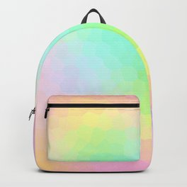 Dimensional Pastel Scales Backpack