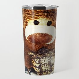 Turtle P. Turtle, Esquire and Buddy Bear Travel Mug