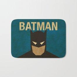BatMans minimalist Gotham Artwork Bath Mat