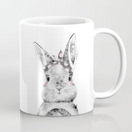 Bunny with Scarf Coffee Mug
