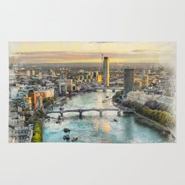 London city art 2 #london #city Rug