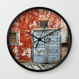 Forsaken House III Wall Clock