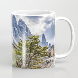 Snowy Mountains at Laguna Torre El Chalten Argentina Coffee Mug