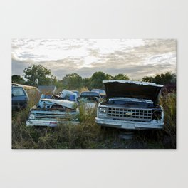 A Story Or Two Canvas Print