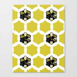 Busy as can Bee Canvas Print