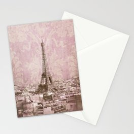 romantic Paris 2 Stationery Cards