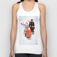 fargo Tank Tops featuring Fargo TV Series Poster by Take Heed