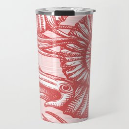 AMMONITE COLLECTION RED Travel Mug