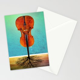 Rooted sound. Stationery Cards