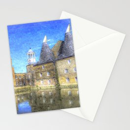 Three Mills Bow London Art Stationery Cards