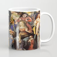 angels Mugs featuring Angels by Vesna Bursich