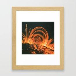 Coronal Mass Ejection Framed Art Print