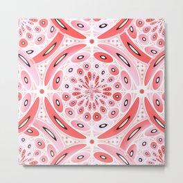 Geometric harmony Metal Print