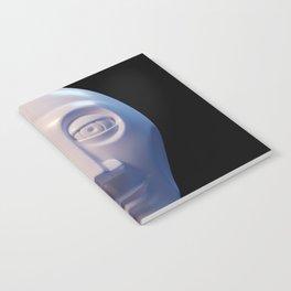 Alien-human hybrid head Notebook
