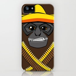 Gibbon Desperado iPhone Case