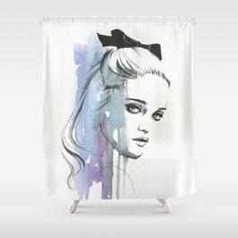 Sky Ferreira Shower Curtain