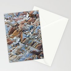 Natural Rock Pattern Stationery Cards