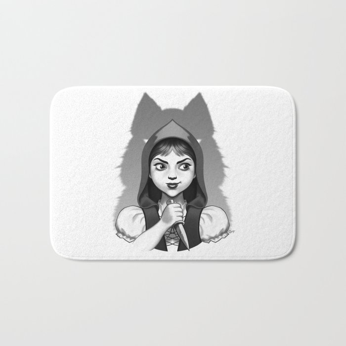 Little Red Riding Hood's Surprise Bath Mat