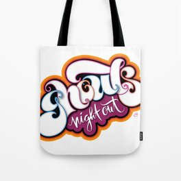 Ghouls Night Out Tote Bag