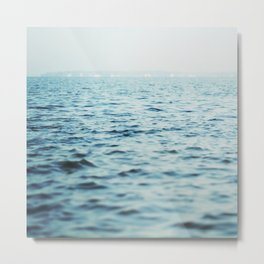The Blue Channel Metal Print