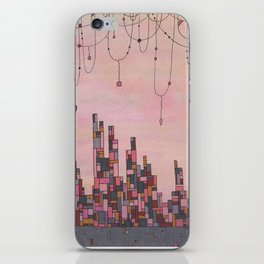 Traveling Skyline iPhone Skin