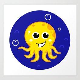New in shop : water creature Art Print