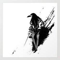 KNAVE Art Print