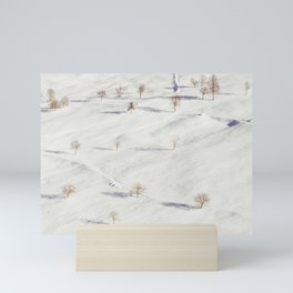 White Winterscapes II Mini Art Print