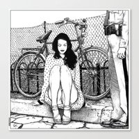 apollonia Canvas Prints featuring asc 592 - L'amende honorable (A satisfactory apology) by From Apollonia with Love