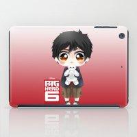 big hero 6 iPad Cases featuring Big Hero 6 - Hiro Hamada by Yorlenisama