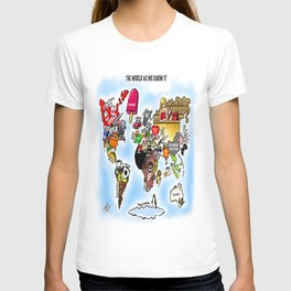 The World as we know it T-shirt