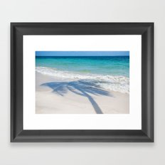 SEA TREE Framed Art Print
