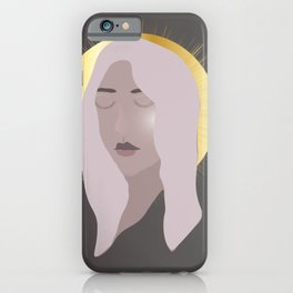 She Is Magic ( Charcoal ) By A.Talese iPhone Case
