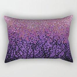 Plum Blossom Tree Grove Rectangular Pillow