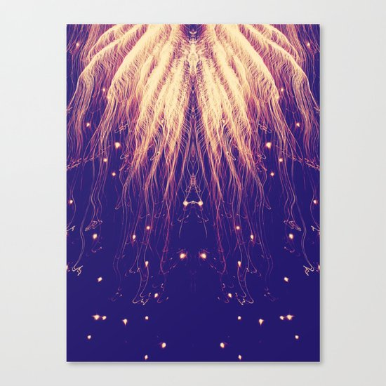 Fire Hair Canvas Print