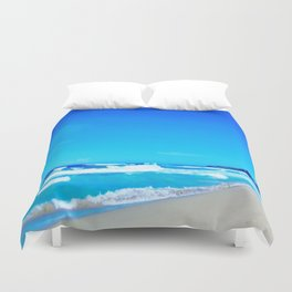 Carribean Coast Duvet Cover