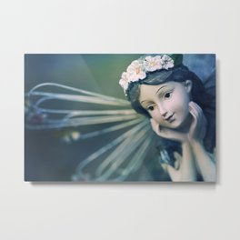 Daydreamer - Fairy Blue Metal Print