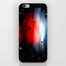 Planet deep in space. iPhone Skin