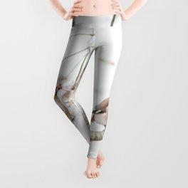 Bohemian waxwing Leggings