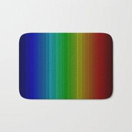spectrum colours colors rainbow Bath Mat
