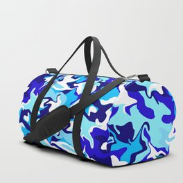 Ocean Blues Camo Duffle Bag