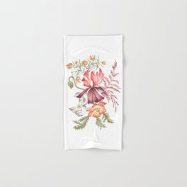 Iris with Furze-Bush, Fern and Poppies Hand & Bath Towel