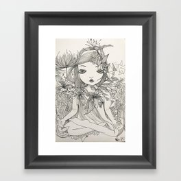 Into nature, we are one. Framed Art Print