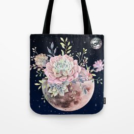 succulent night light Tote Bag